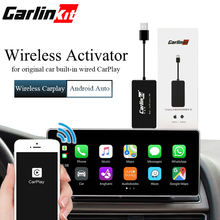 Carlinkit CarPlay Wireless Activator for Audi Porsche Wolkswagen Volvo Original car with Carplay