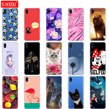 silicon case for xiaomi redmi 7a cases full protection soft back cover on redmi 7a bumper hongmi 7a phone shell bag coque