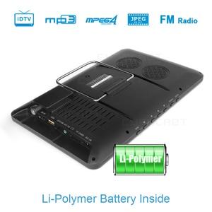 Image 4 - LEADSTAR televisor portátil de 10,8 pulgadas, DVB T2, LED de vista completa, Mini coche pequeño, Digital y TV analógica, compatible con HDMI H.265 AC3
