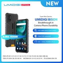UMIDIGI BISON IP68/IP69K Waterproof Rugged Phone 48MP Matrix Quad Camera 6.3″ FHD+ Display 6GB+128GB NFC Android 10 Smartphone