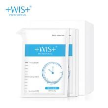 WIS медленная маска времени, эластичная и прочная, задержка лет, против морщин, тонкие линии, увлажнение, аутентичные мужчины и женщины