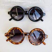 6 couleurs enfant en bas âge enfant lunettes de soleil garçon fille solide léopard mode lunettes de soleil enfant lunettes de plage lunettes
