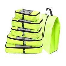 Nylon/Childrens/Mens/Womens Travel Bag Organizer/Hand Luggage/Large Capacity Packing Cube Luggage Organizer