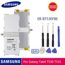 Оригинальная батарея samsung EB-BT530FBC EB-BT530FBE 6800 ма-ч для samsung GALAXY Tab 4 SM-T530 SM-T531 SM-T533 SM-T535 SM-T537 P5220