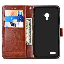 Leather case For Micromax Canvas Pace 4G Q415 Flip cover housing For Micromax Q