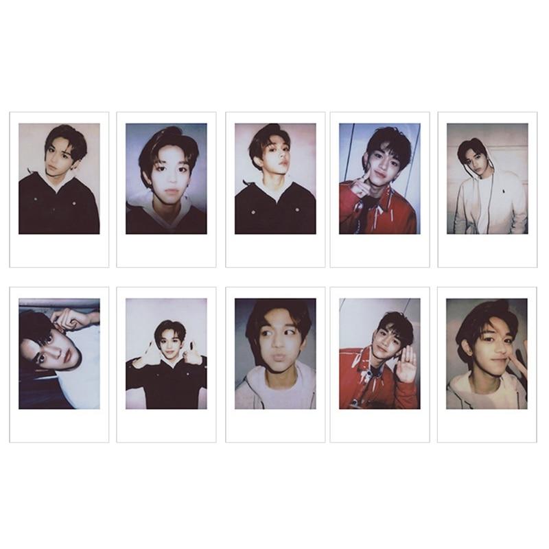10 шт./компл. KPOP NCT 127 Taeyong WINWIN фотокарточки плакаты ЛОМО самодельные бумажные фотокарточки Поклонники Подарочная коллекция