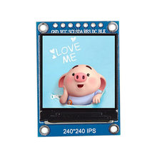 1.3 Inch Ips Hd Tft St7789 Rijden Ic 240X240 Spi Communicatie 3.3V Spanning Spi Interface Full Color tft Lcd Display(China)