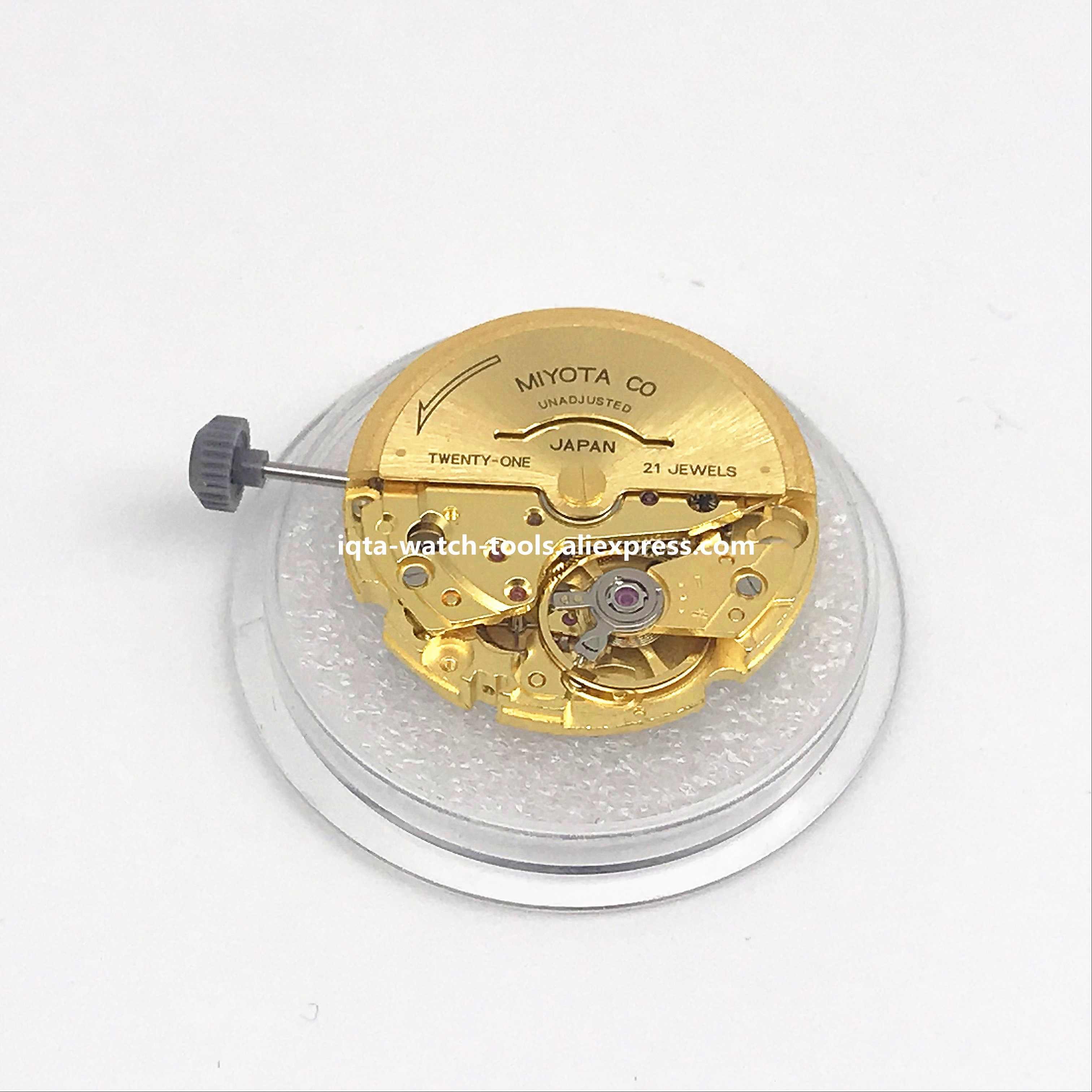 オリジナル日本運動御代田8200自動運動21宝石腕時計交換スペアパーツダブル/シングルカレンダー