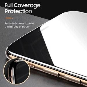 Image 2 - Benks toz önleme ekran koruyucu için iPhone 11/11Pro/11ProMax/Xr/Xs Max tam kapsama anti mavi Litght temperli cam filmi