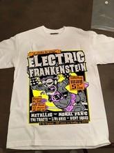 Elétrica frankenstein may 5th 2018 brooklyn branco t camisa