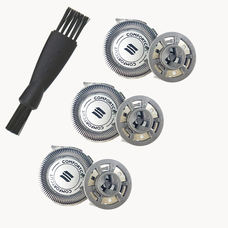 3pcs Shaving Head Replacement Blades Heads for Philips Series S5000 SH50 S5070 S5079 S5080 S5082S 5090 S5560 S5570 S5571 S5620 image