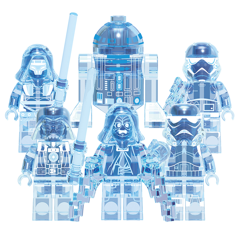 Legoingly Star Wars Mandalorian Clone Troopers Phasma Darth Revan Stormtrooper The Rise Of Skywalker Toys Building Blocks