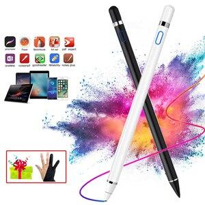 Uniwersalny 2 w 1 rysik rysunek Tablet długopisy pojemnościowy ekran dotykowy pióro do telefonu komórkowego Android inteligentny długopis akcesoria do telefonów