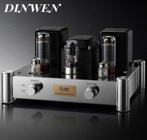 Одиночный EL34 вакуумный ламповый усилитель Hifi аудио стерео винтажный Интегрированный усилитель мощности ручное Крепление Шасси 12 Вт PSVANE EL34B...