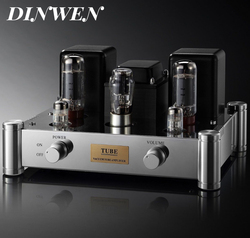 Single End EL34 Vacuum Tube Amplifier Hifi Audio Stereo Vintage Integrated Power AMP Hand Chassis Mount 12W PSVANE EL34B 6N2 5Z4