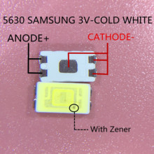 1000pcs 삼성 LED 백라이트 0.5W 3v 5630 TV TV 응용 프로그램에 대 한 멋진 흰색 LCD 백라이트 SPBWH1532S1ZVC1BIB