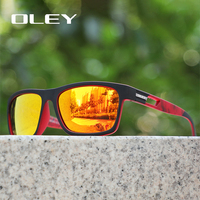 OLEY Brand Classic Polarized Sunglasses Men Driving Glasses Coating Black Fishing Driving Eyewear Male Sun Glasses YG203