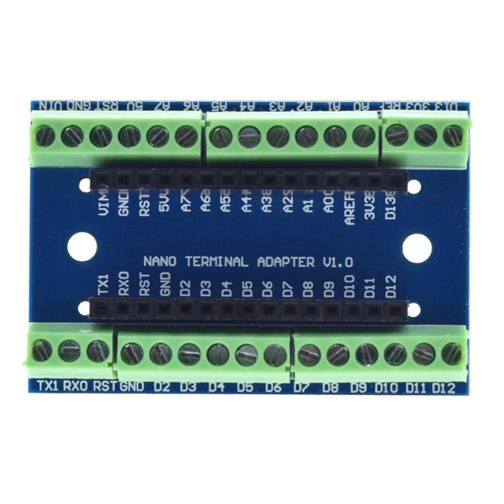 Standard Terminal Adapter Board For Arduino Nano 3.0 V3.0 AVR ATMEGA328P ATMEGA328P-AU Module Expansion Shiled Module