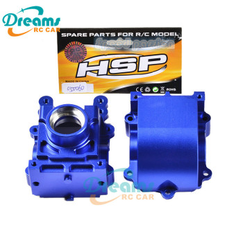 HSP racing spare parts 050060 /550060 aluminum gear box 1/5 ratio RC car universal hsp racing rc car spare parts accessories 050009 steel universal drive joint of 1 5 gas truck 94050 skeleton and baja 94054 4wd