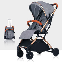 baby stroller foldable easy to carry high landscape baby inf