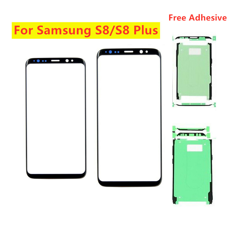 Touch Screen Out <font><b>Glass</b></font> Cover <font><b>replacement</b></font> For <font><b>Samsung</b></font> <font><b>Galaxy</b></font> <font><b>S8</b></font> G950 <font><b>S8</b></font> Plus G955 S9 G960 G960F S9 Plus G965 For <font><b>Samsung</b></font> <font><b>S8</b></font> S9 image