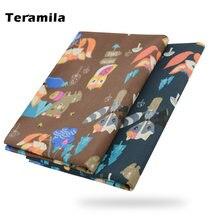 Teramila Хэллоуин мультфильм шаблон одежда из ткани 100% хлопок