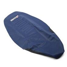 750mm PU yumuşak Pro nervürlü kauçuk tutucu yumuşak koltuk örtüsü W/ Logo Husqvarna TC FC TE FE 501 450 350 300 250 125 2014 2015 2016