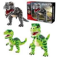Jurassic Welt 2 Bausteine Legoings Dinosaurier Zahlen Bricks Duplos Tyrannosaurus Rex Park Indominus Montieren Kinder Spielzeug
