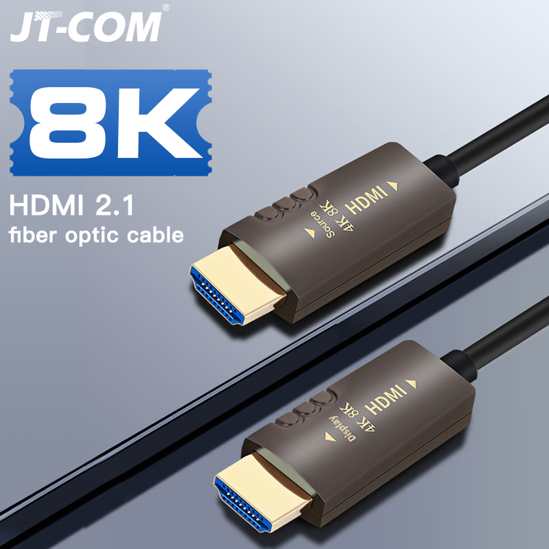 8K Cable 2 1 120Hz 48Gbs Optical Fiber HDMI 2 1 2 0 Cable Ultra High Speed HDR eARC for HD TV Box Projector PS4 Cable HDMI