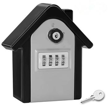 Large Anti-Theft And Anti-Theft Password Key Box Security Lock Metal Storage Box Suitable For Multi-Occupation Key Insurance Box недорого
