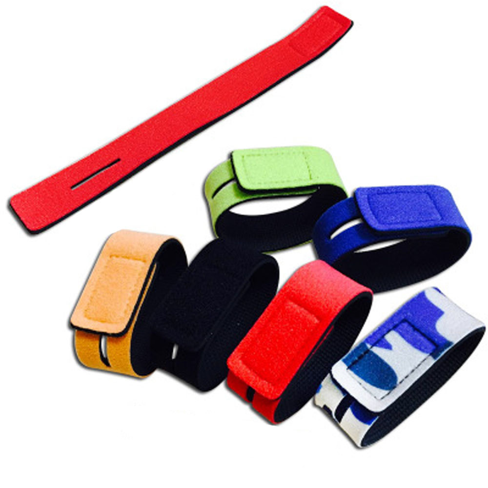 New Fishing Tools Rod Tie Strap Belt Tackle Elastic Wrap Band Pole Holder Accessories Diving Materials Non-slip Firm
