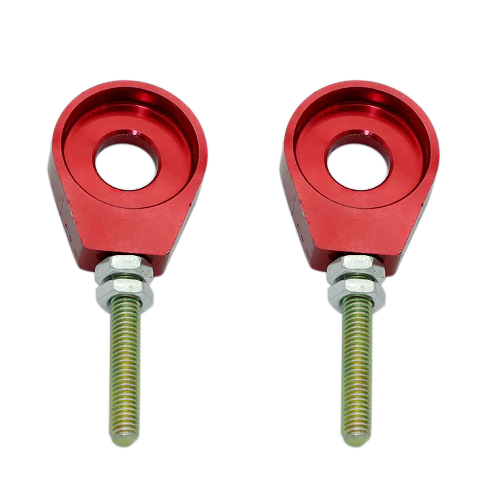THAOMAI Red 12Mm Chain Adjuster Tensioner Block For Dirt Bike Crf50 Thumpstar