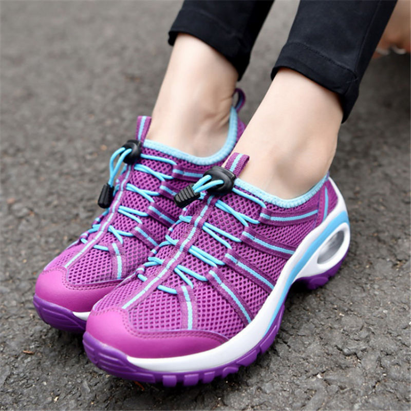 2019 High quality sneakers women Air cushion damping Running shoes women zapatillas mujer Sandals Sport shoes woman basket femme