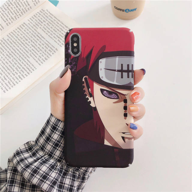 NARUTO THEMED IPHONE CASE (6 VARIAN)