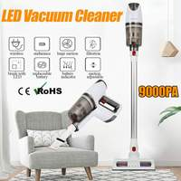 Cordless Rechargeable Electric Mop Floor Mop 2 in 1 Led Handheld Vacuum Cleaner Aspirator 9000pa Home CAR Vacuum Dust Collector