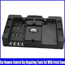 Repairing-Tools-Kits Fetch-Case Flip-Key Locksmith-Tools Huk with 4pcs Remote-Control