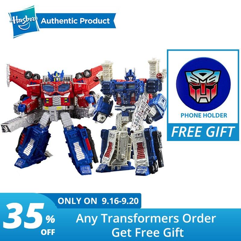 Hasbro transformateurs jouets générations guerre pour Cybertron siège Leader WFC-S40 Galaxy mise à niveau Optimus Prime onde de choc Ultra Magnus