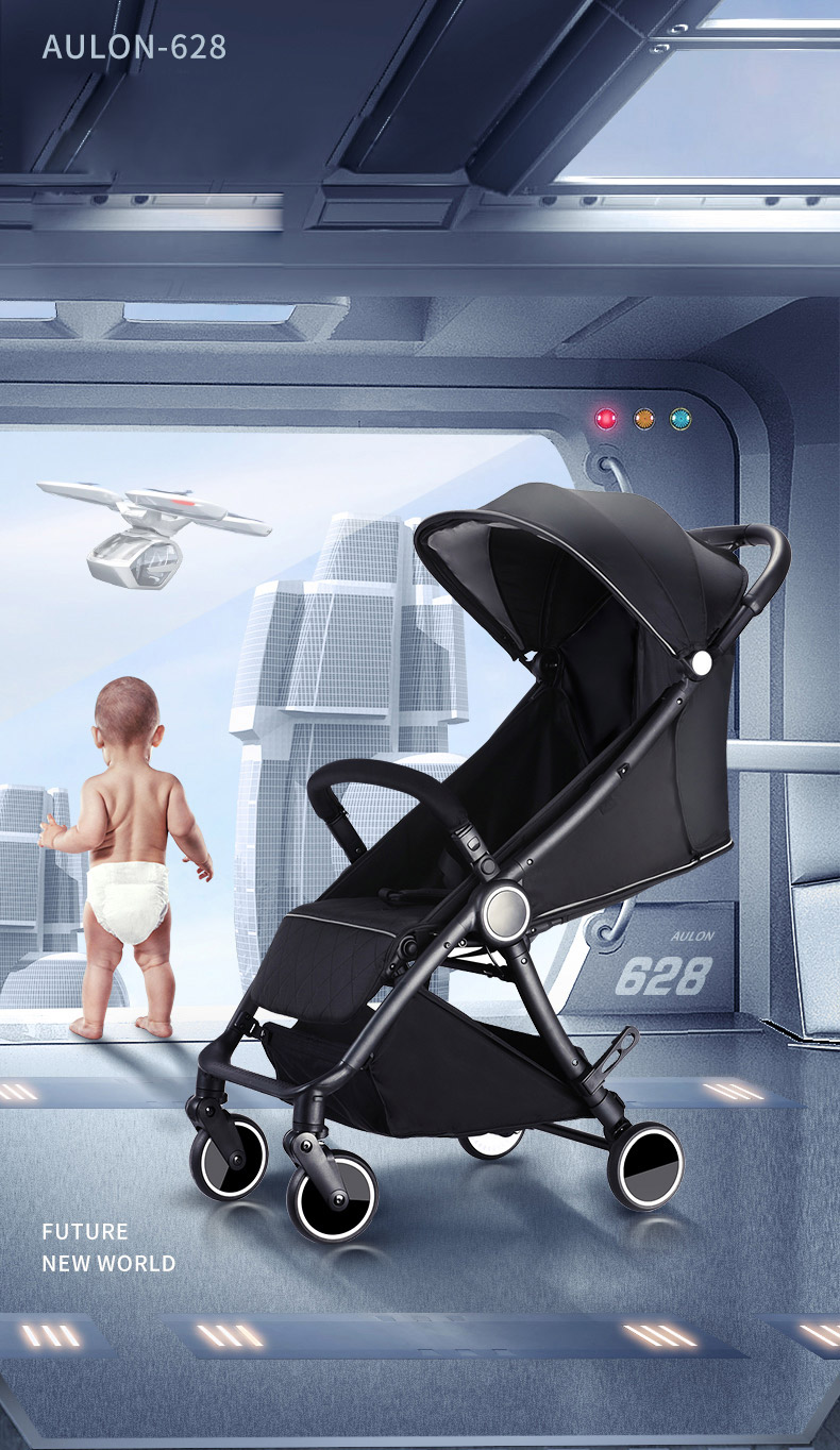 free delivery! 2019 new fashion stroller lightweight luxury stroller portable travel stroller