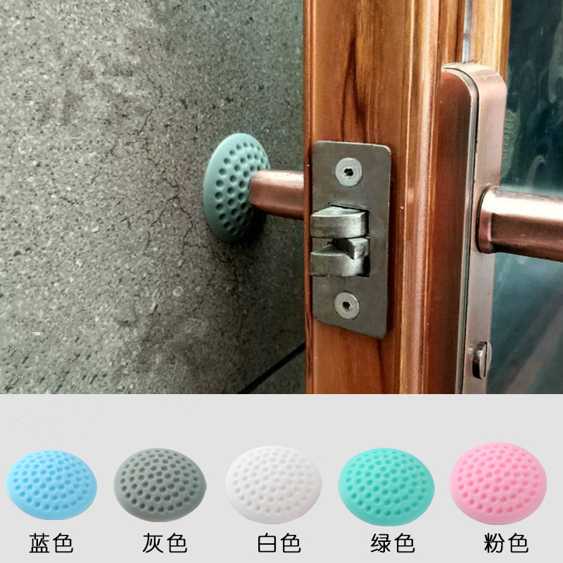 1 Pcs Protection Baby Safety House Door BlockAnti-Collision Wall Pad Baby Corner Protector Guard Mat Doorknob Mute Wholesale