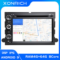 DSP 8 core 2 Din Android 9 Car DVD Player For Ford F150 F350 F450 F550 F250 Fusion Expedition Mustang Explorer Edge screen Radio