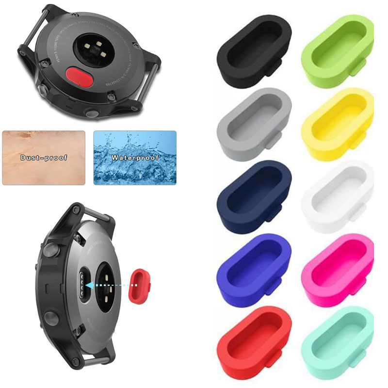 Charger Case Protective Plug Cover Cap For Garmin Vivoactive 3/4 Forerunner 945 935 245 245M 45 45S Music Fenix 5/6/5s/6s/5x/6x