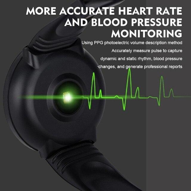 Nowy inteligentny zegarek kobiety mężczyźni Smartwatch dla androida elektronika inteligentny zegar opaska monitorująca aktywność fizyczną pasek silikonowy Smart-Watch Hours