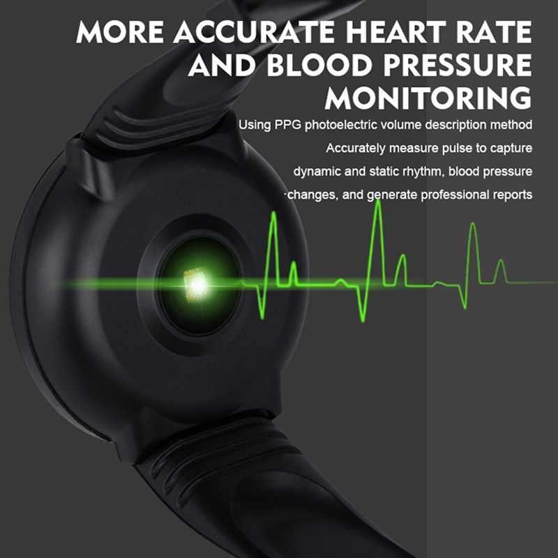 Sport Smart Horloge Mannen Smartwatch Vrouwen Slimme Horloge Bloeddruk Hartslagmeter Waterdicht Smartwatch Horloge Voor Android Ios