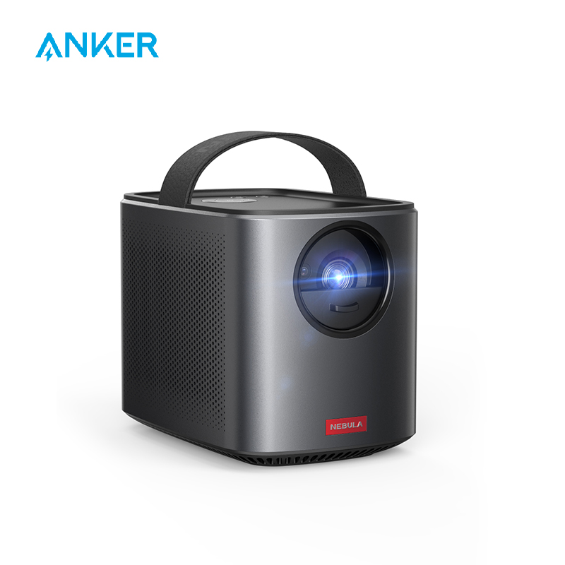 Nebula by Anker Mars II Pro 500 ANSI Lumen Portable Projector, Black, 720p Image, Video Projector, 30 to 150 Inch image