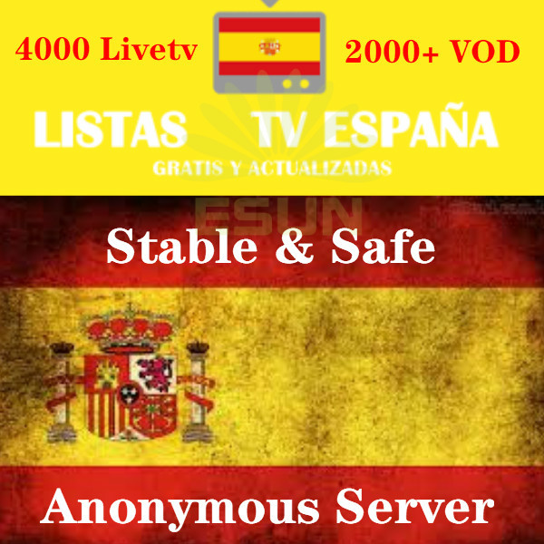 Subscripcion IPTV Spain M3U  Code M3u GSE Enigma For Android Box Enigma2 IOS Smart PC Smart TV Xxx