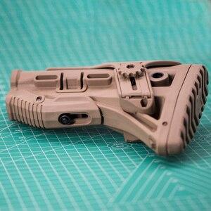 Image 5 - Pistola de aire de Airsoft AEG M4 AK Gel Blaster J8 J9 CS Sports, nailon táctico ajustable, disponible para accesorios de Paintball