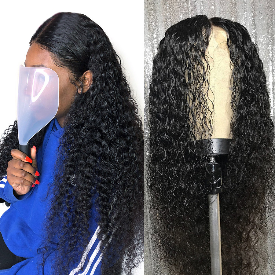 Deep Wave Lace Frontal Wig Peruvian Deep Wave 13 4 Lace Front 100 Lace Front Human