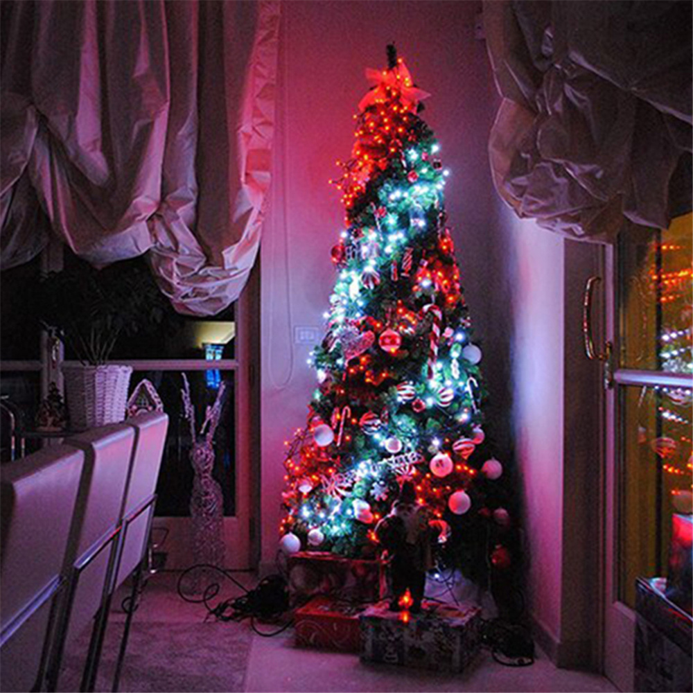 cheapest 6M x 3M 600 LED Home Outdoor Holiday Christmas Decorative Wedding xmas String Fairy Curtain Garlands Strip Party Lights