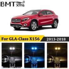BMTxms 15 Uds LED de cúpula Interior de coche luz Canbus para Mercedes Benz clase X156 GLA180 GLA200 GLA220 GLA250 GLA45 AMG