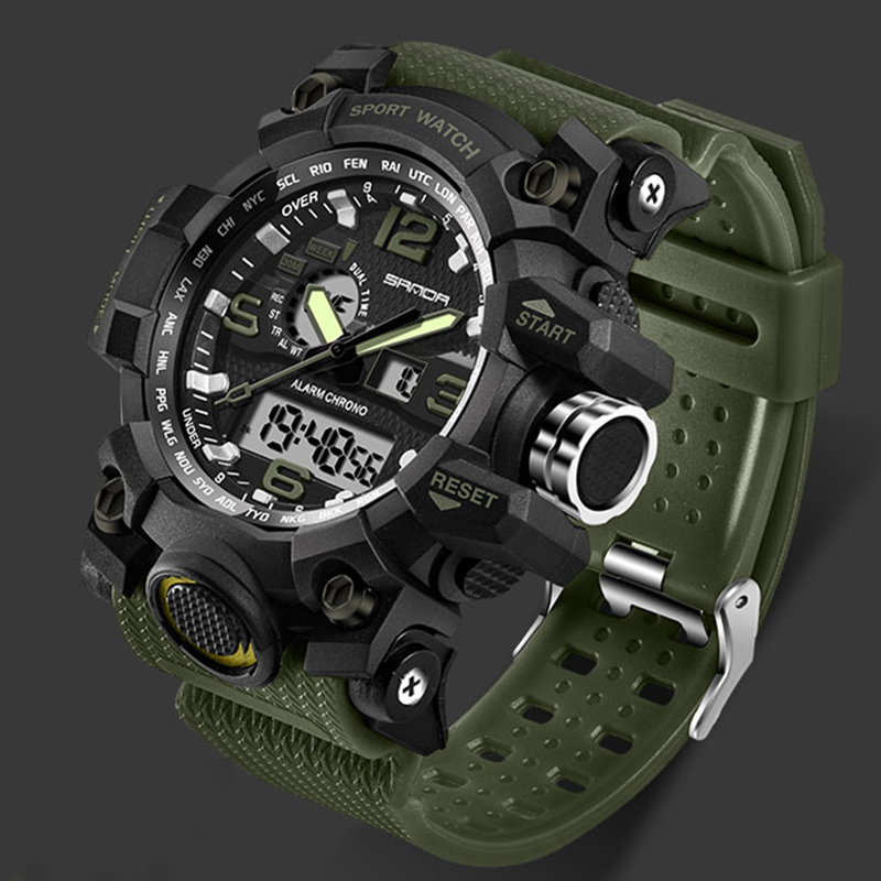 G Style Military Watch Waterproof Sports Watches Men's LED Digital Watch Top Brand Luxury Clock Camping Diving Relogio Masculino